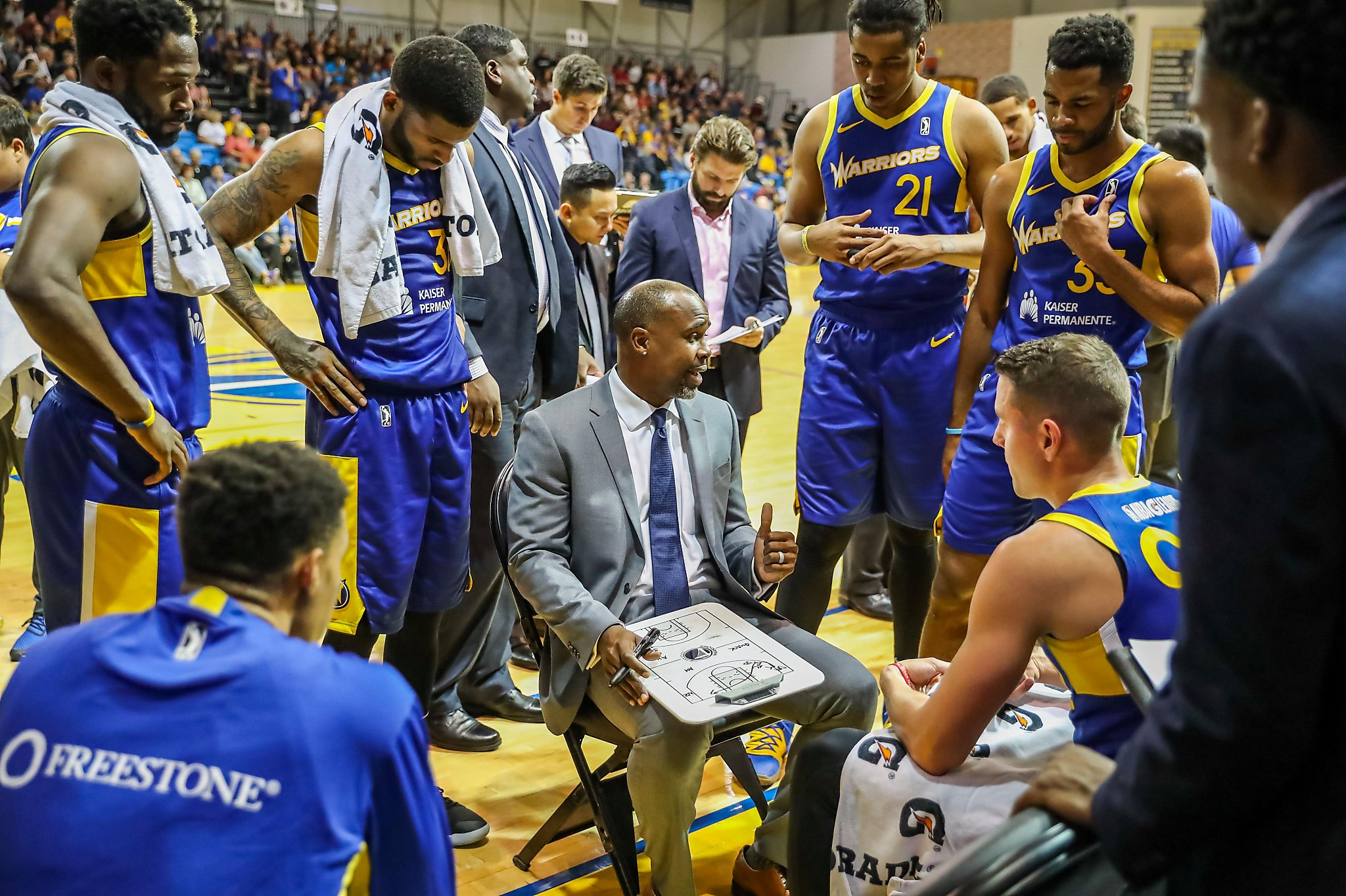 How Santa Cruz Warriors are handling an early end to G League season