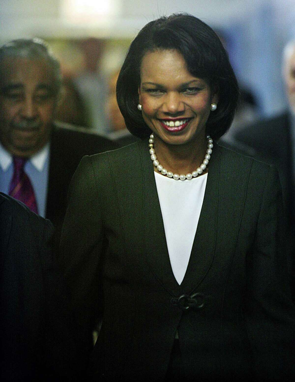 Former U.S. Secretary of State Condoleezza Rice, pictured here in 2007, is well-respected, and a reader says she would make an excellent vice presidential pick for Joe Biden.