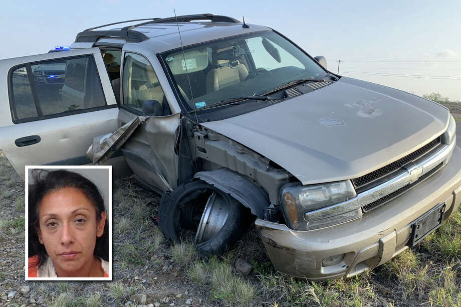 A suspected human smuggler led state police on a chase on Thursday in the Cielito Lindo neighborhood in south Laredo, authorities said. Photo: Courtesy Photo