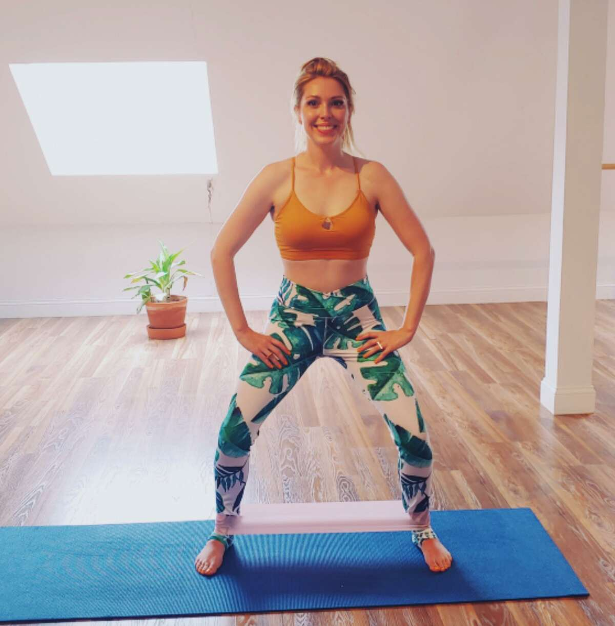 Kelly Paige of Yoga Lily Studio.