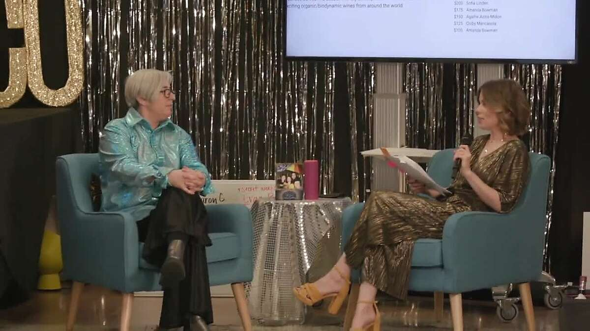 Gateway Schools director of development and outreach�Chanda Lockhart, and�the school's executive director Sharon Olken live-streaming their adapted Gateway Gathering fundraiser