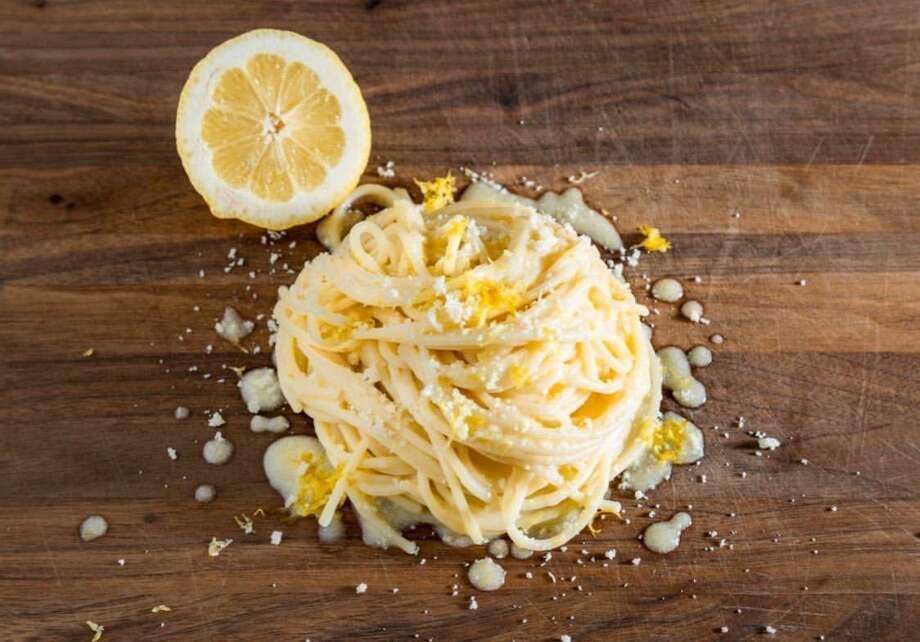 Pasta y Lemon Recipe from Hoodoo Brown in Ridgefield Photo: Hoodoo Brown