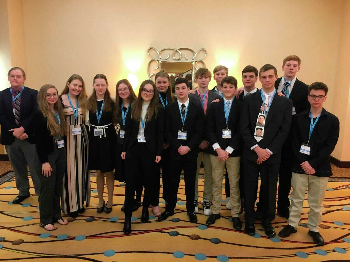 Frankfort students attend Model UN. (Courtesy photo/Dave Jackson)