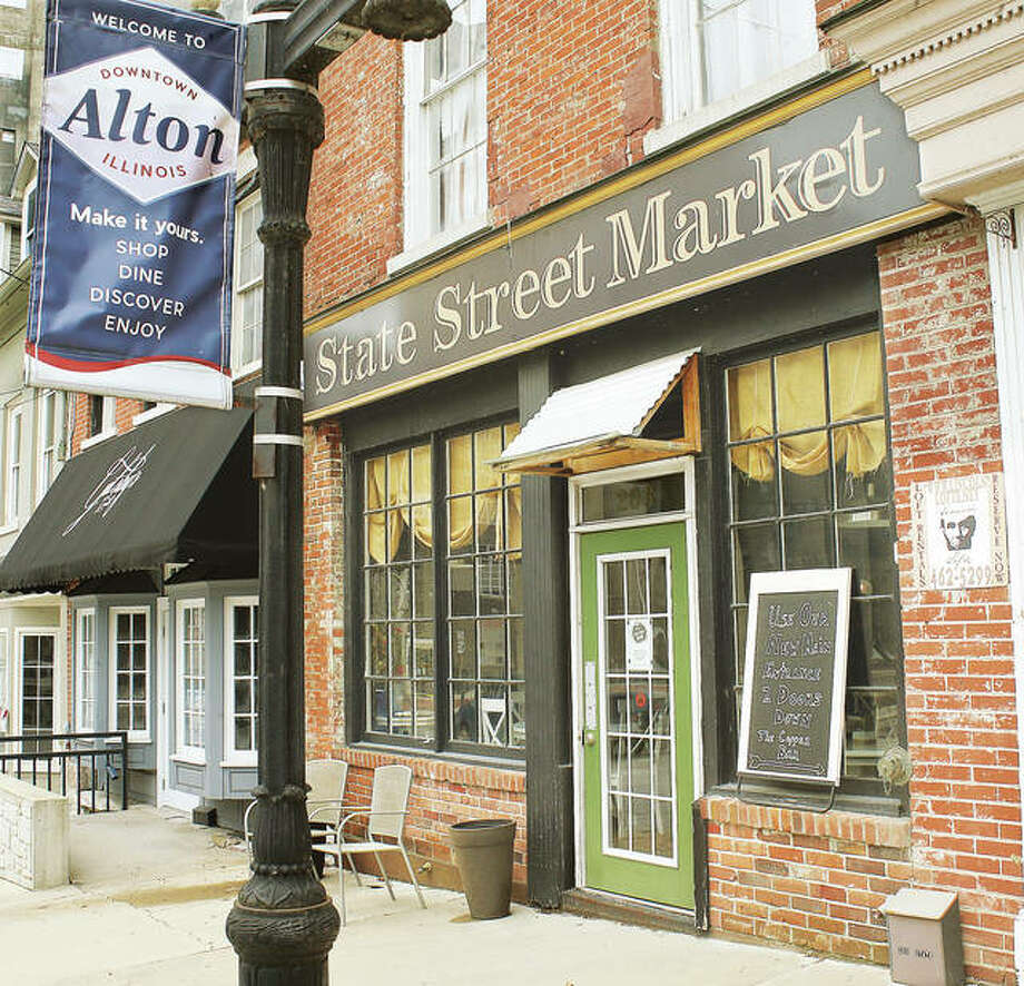 State Street Market in downtown Alton is temporarily closed after a March 14 customer informed the restaurant she had tested positive for COVID-19. Terri Beaubien spoke of the customer in a Thursday Facebook post asking people to be emphathetic of people with the disease and was buried the following day by responses.