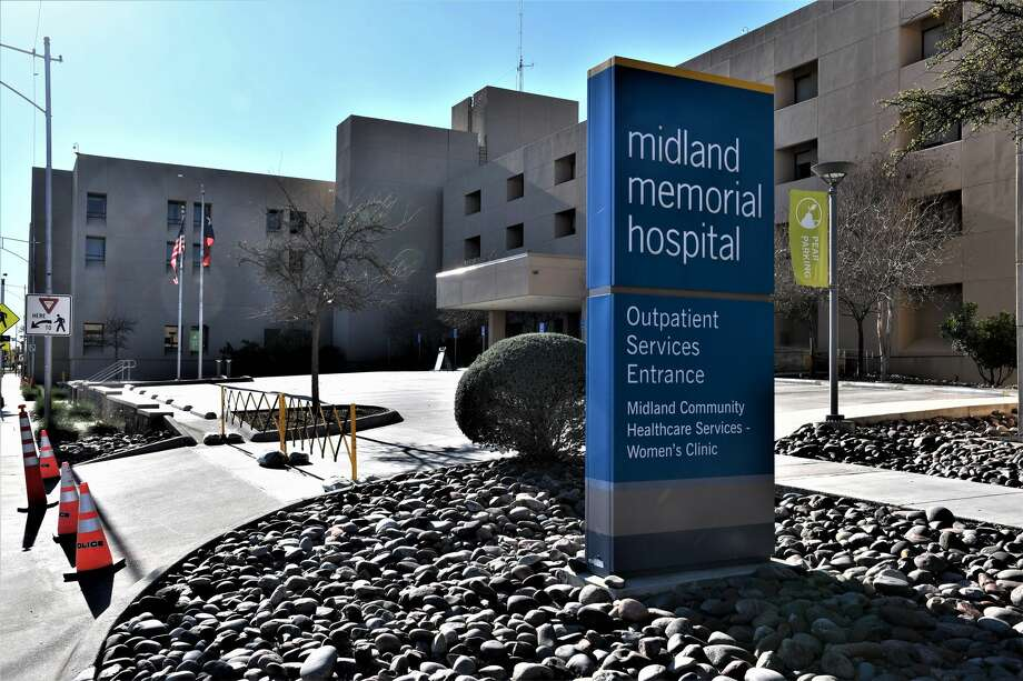 In order to prevent the spread of COVID19 and to protect the patients in our care, Midland Memorial Hospital has suspended all visitation effective Saturday, March 21 at 5:00 am. The only points of entries for the public will be the Emergency Department entrance and the Craddick Medical Office Building main entrance. Photo: Mercedes Cordero/ Midland Reporter-Telegram