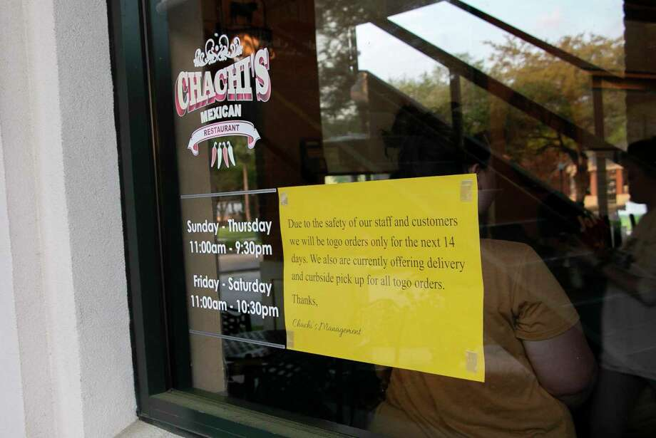 The new coronavirus is more than a health risk, it is an economic threat as well to many local businesses.As part of Harris County, Kingwood has to follow the mandate fromHarris County Judge Lina Hidalgo to close all bars and limit restaurants to take-out only options in an effort to contain the novel coronavirus. Photo: Savannah Mehrtens/Staff Photo / Savannah Mehrtens/Staff Photo