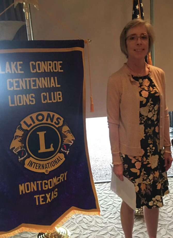The guest speaker for Lake Conroe Centennial Lions Club's last meeting was Julie Vaughn with Builders for Christ - South Texas.  For more information on Builders for Christ email bfcsouthtexas@gmail.com or go to www.bfcsouthtexas.org. Lake Conroe Centennial Lions Club meets on the 2nd and 4th Thursdays at 6 pm at Walden Yacht Club. Photo: Courtesy Photo