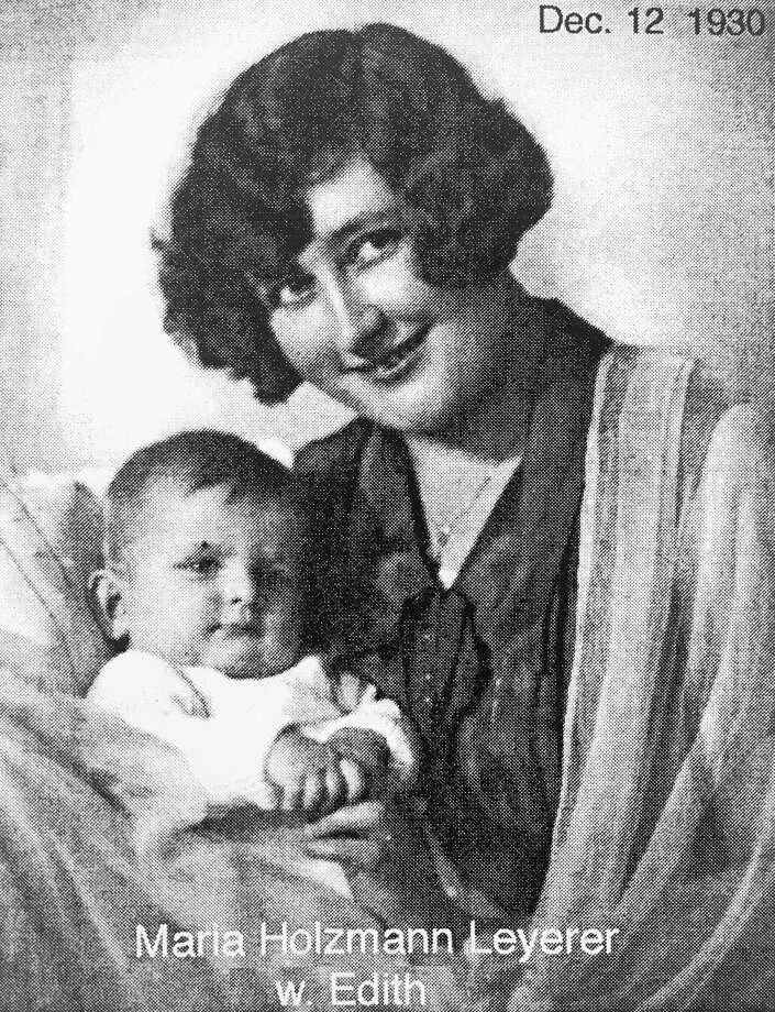 Maria Holzmann Leyerer with Edith in 1930. (Photo provided/Edith Anders)
