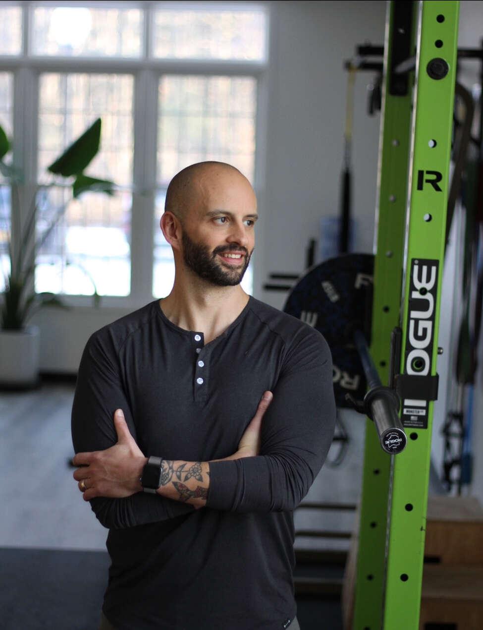 Personal trainer Will Yund