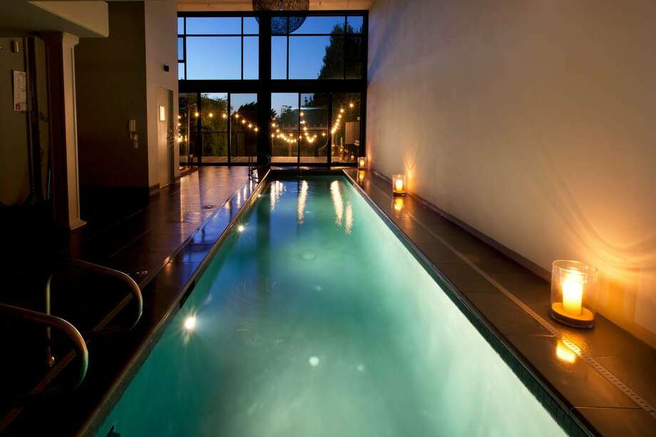 This 4-bedroom, 5-bathroom home with an indoor pool and full gym in Potrero Hill is for rent. Photo: Craigslist