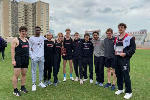 St. John's hosted the Maverick Relays, March 6-7, winning the boys team championship 107 points, four ahead of St. Thomas.