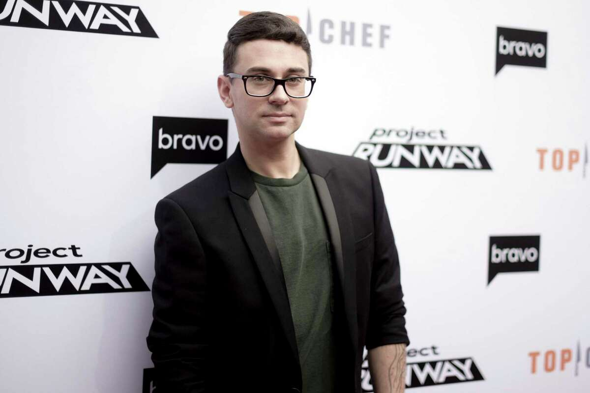 In this April 16, 2019 file photo, Christian Siriano attends Top Chef and Project Runway 'A Night of Food and Fashion' at Vibiana in Los Angeles. Siriano in a tweet vowed to make masks, asking his sewing team to pump them out to help medical responders. The tweet got Gov. Andrew Cuomo's attention, who thanked the