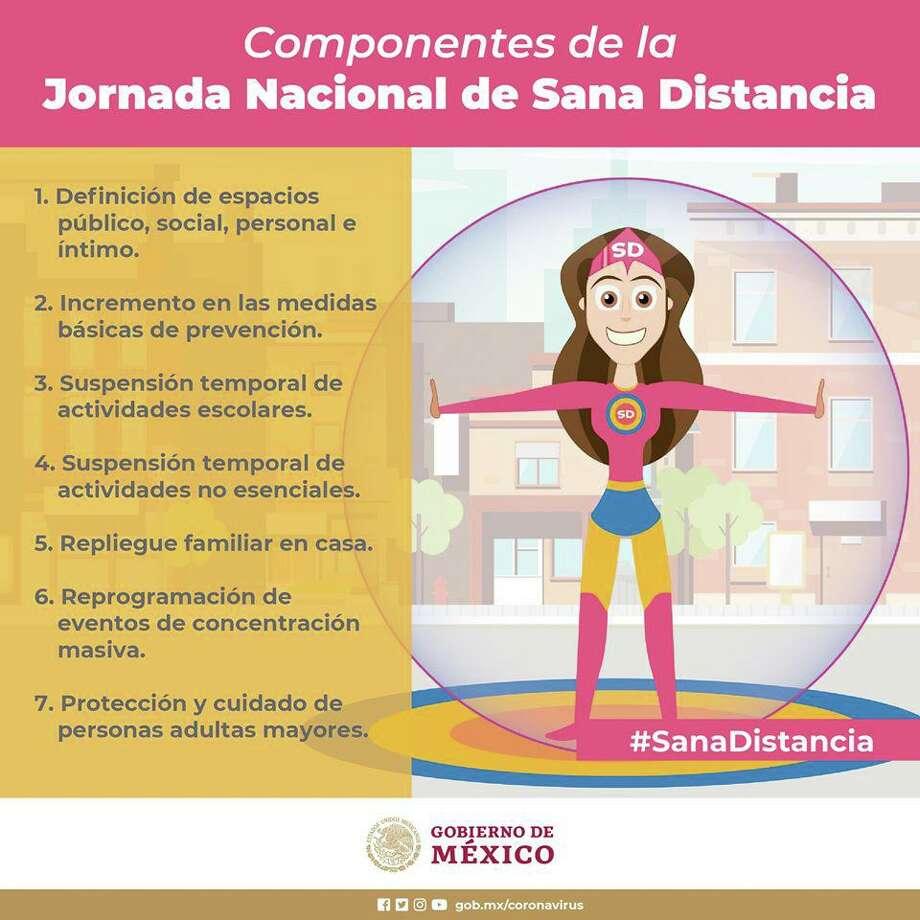 Susana Distancia. Superheroína mexicana contra el COVID-2019 implementada por el gobierno de Andrés Manuel López Obrador. Photo: Foto De Cortesía /Gobierno De México