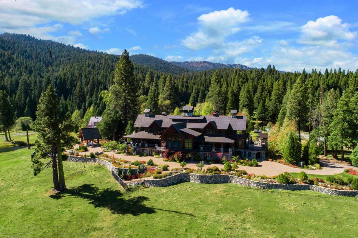 1245 Carmichael Road in Clio is a 10-bedroom home on a 93-acre estate listed for $25 million.
