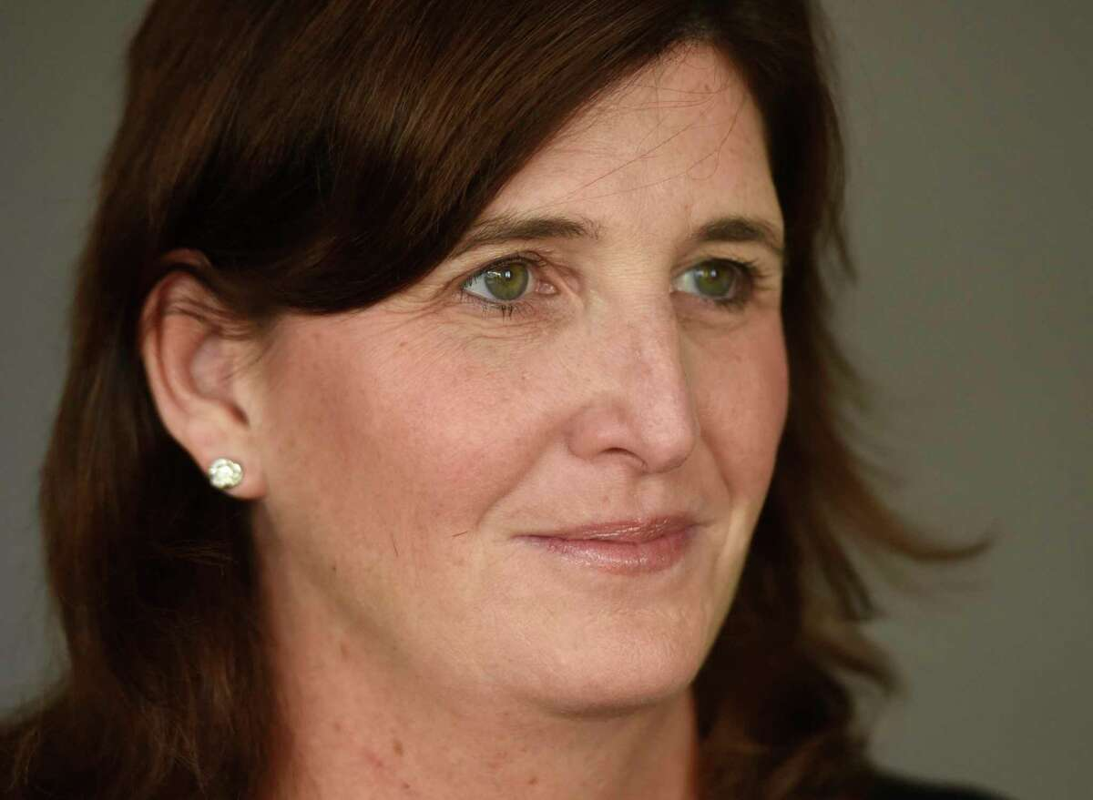 Connecticut Coalition Against Domestic Violence Executive Director Karen Jarmoc