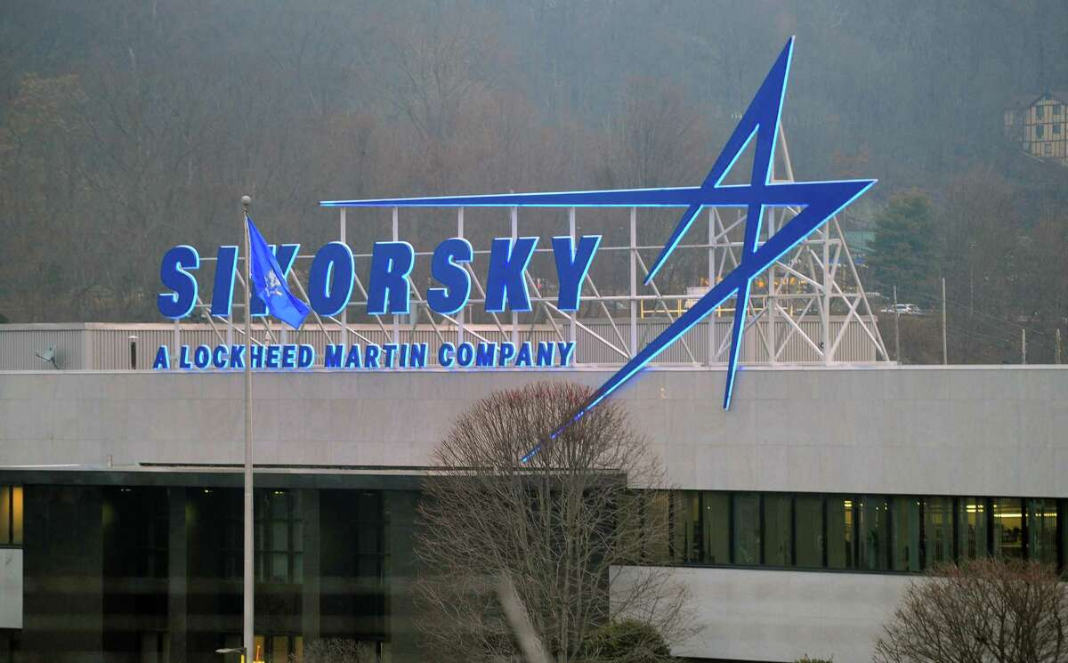 A file photo from January 2020 showing Sikorksy Aircraft. Sikorsky's owner, Lockheed Martin, is Stratford's top taxpayer.