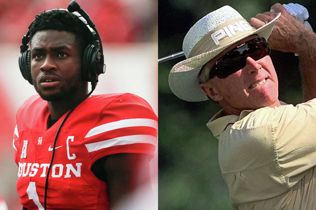 """A matchup between quarterback Greg Ward Jr. and golfer Kermit Zarley is among the latest stage of voting in our """"Whose Bracket? Coogs Bracket"""" to determine the greatest University of Houston athlete."""