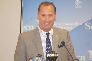 Southern Connecticut State athletic director Jay Moran serves as the mayor of Manchester as his part-time job. The West Haven native was the Bridgeport AD before moving to Southern.
