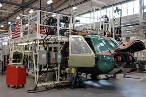 Defense contractors such as the Stratford-based Sikorsky Aircraft Division of Lockheed are allowed to keep working during the pandemic.