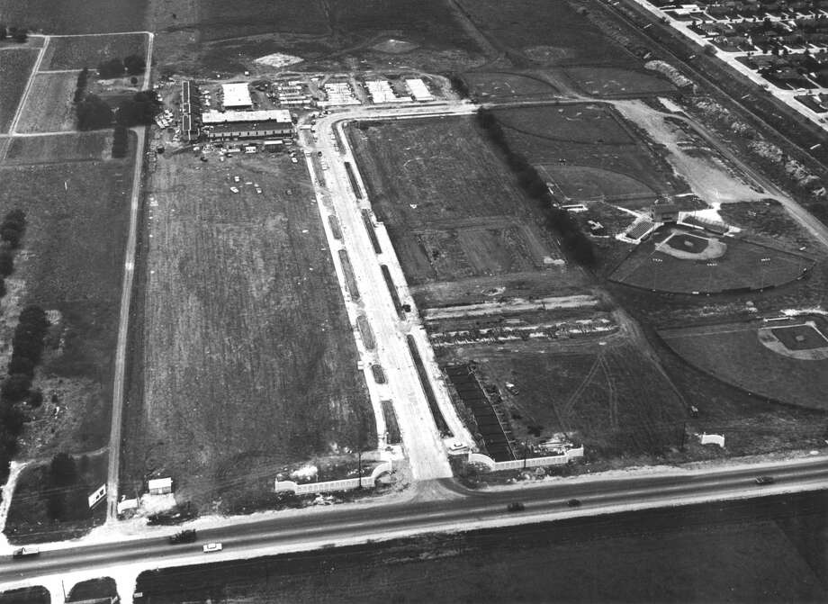 Aerial view of west Houston, circa 1963. Photo: Chronicle File