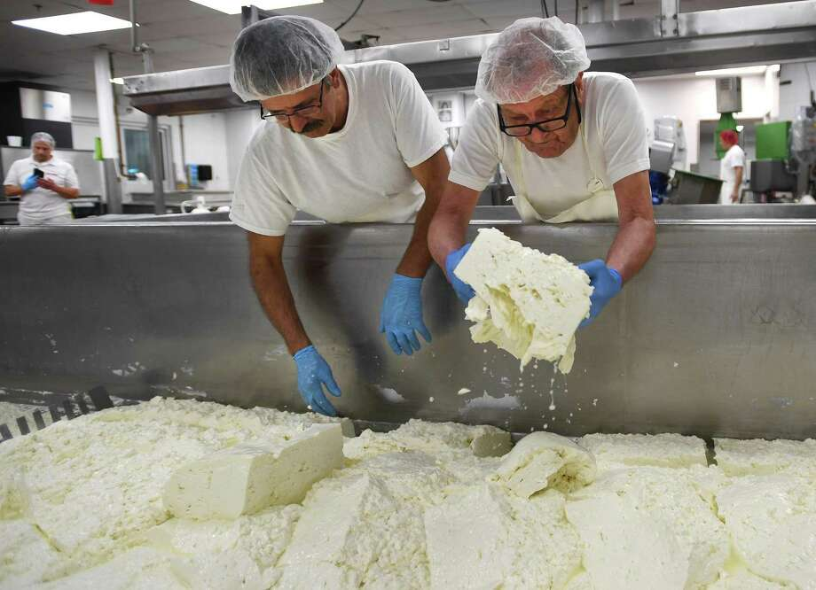 The Liuzzi Cheese factory in Hamden, Conn., in August 2019. Under an executive order that takes effect Monday, March 23, 2019, food producers are deemed essential under a list of such businesses that can remain open beyond March 23, 2019, as Connecticut works to slow the transmission of the novel coronavirus COVID-19. Photo: Brian A. Pounds / Hearst Connecticut Media / Connecticut Post