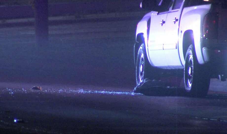 A San Antonio man was shot by men in masks Monday, according to the San Antonio Police Department. Photo: J.J. Trevino