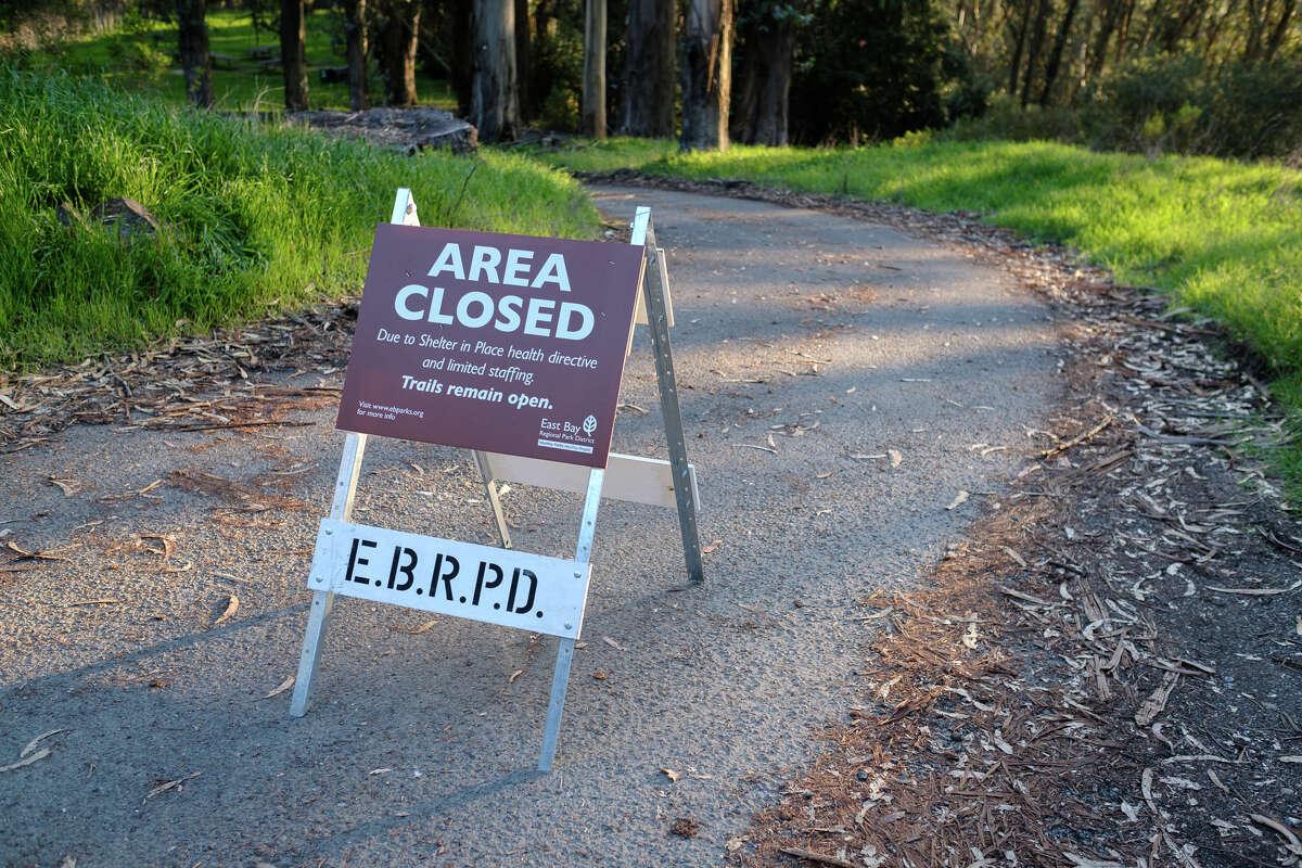 Tilden Regional Park is between Berkeley Hills and the San Pablo Ridge.