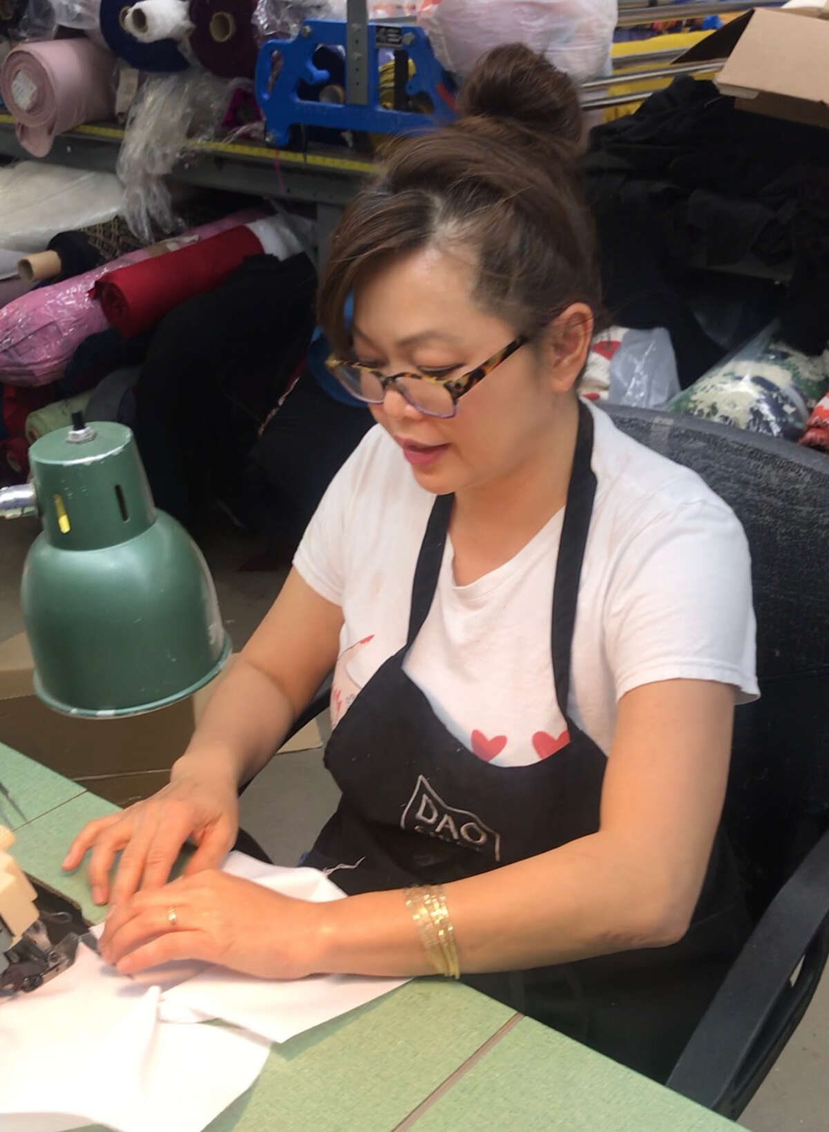 Project Runway winner and Houston fashion designer Chloe Dao has started producing surgical masks to meet the growing demand with the coronavirus pandemic.