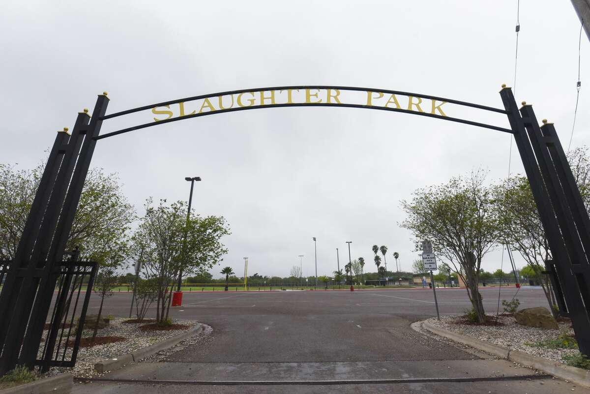 A view of an empty Slaughter Park as seen on, Saturday, Mar. 21, 2020, after the City of Laredo announced the closure of the City Parks System in an effort to encourage social distancing amid the COVID-19 coronavirus concerns.
