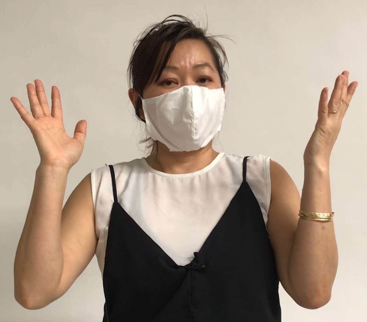Chloe Dao is creating surgical masks for free for healthcare workers and other people who need them.