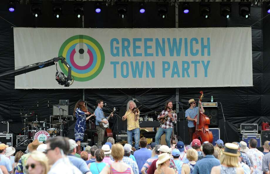 The Greenwich Town Party at Roger Sherman Baldwin Park in Greenwich, Conn., Saturday, May 26, 2018. The annual outdoor concert event and party is in its eighth year and regularly draws more than 8,000 people throughout the day at the waterfront park that overlooks Greenwich Harbor. Photo: Contributed Photo / Contributed Photo / Greenwich Time Freelance