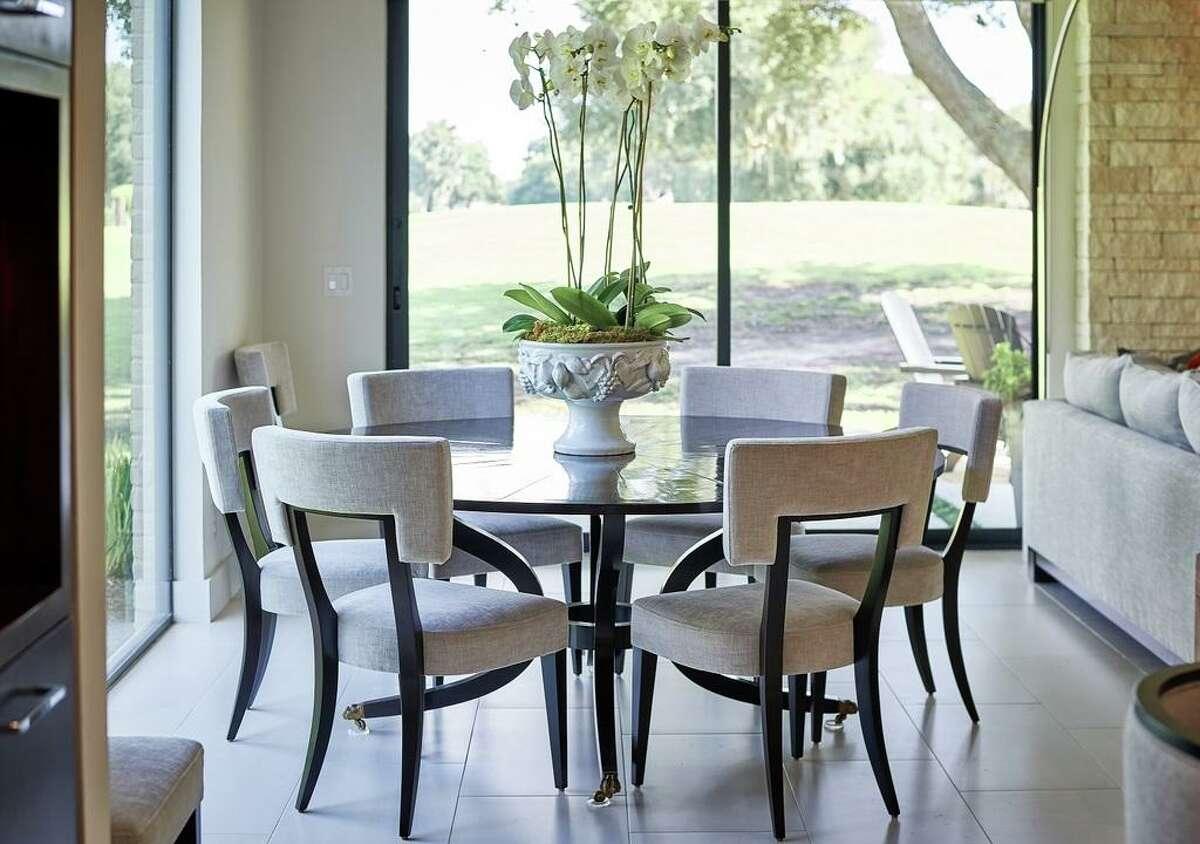 Interior design project by Darla Bankston May of Bankston May Associates.