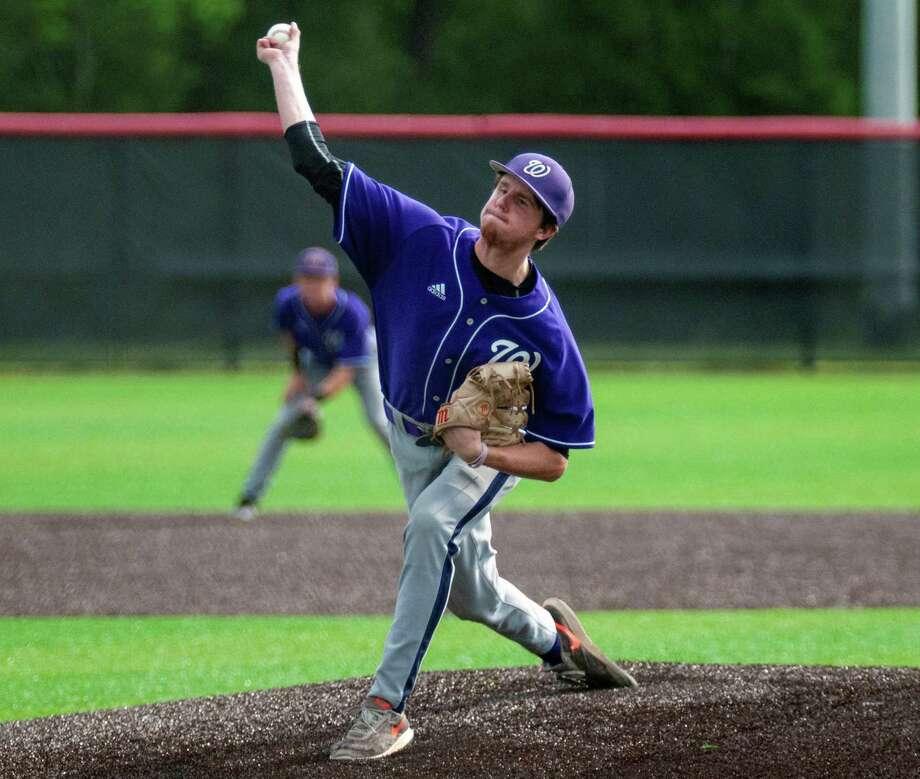 Willis senior baseball player Mason Creacy. Photo: Submitted Photo