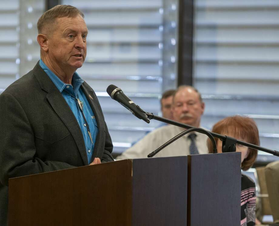Sheriff David Criner told the court this person would be responsible for a variety of tasks, including serving as a liaison to the community, working with churches, organizing public events and safety meetings with the public and providing media updates. Photo: Tim Fischer/Midland Reporter-Telegram