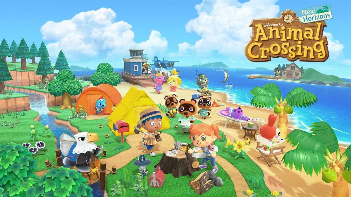 The Nintendo game 'Animal Crossing: New Horizons'