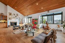 a late 70's contemporary condo with four levels and tons of charm is for sale for the first time in 43 years-- yours for $3.750M