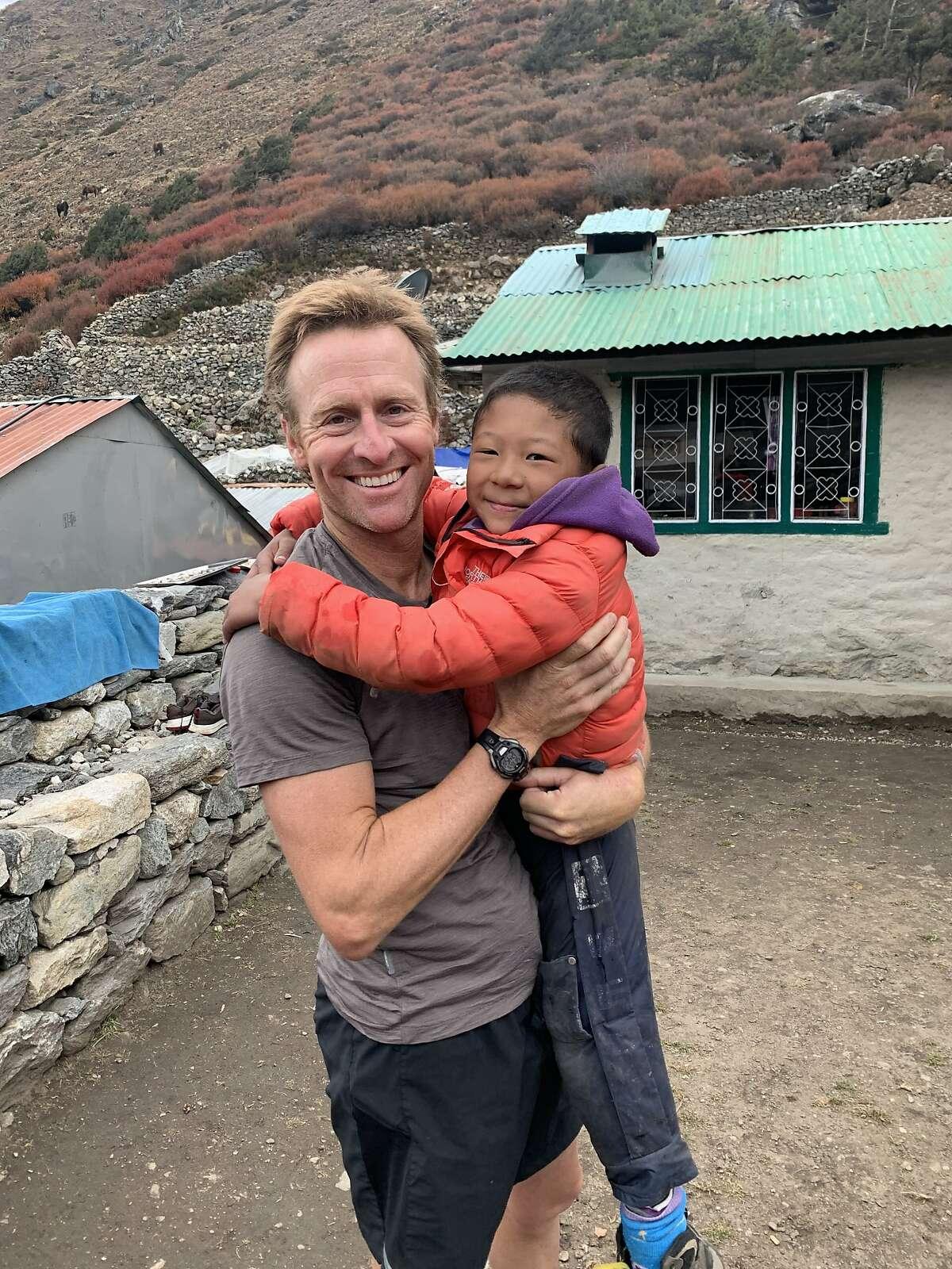Graham Cooper in Nepal in 2019