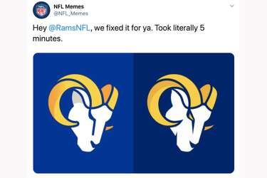 Let S All Take A Minute To Appreciate How Terrible The Los Angeles Rams New Logo Is