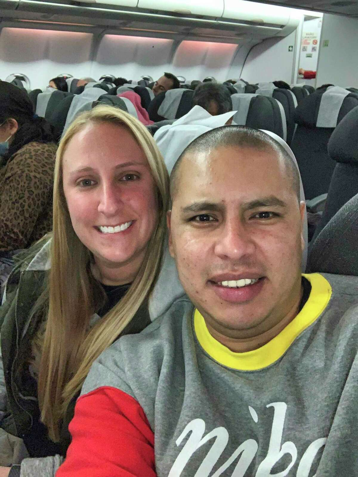 Carlos Salinas and his fiancee Rachel, of Valley Stream, N.Y., are among the more than 2,500 Americans stuck in Peru due to coronavirus as of Monday March 23, 2020. (photo provided)