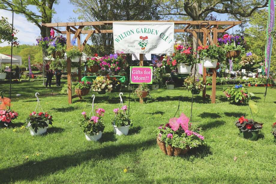 Always a popular event in Wilton Center, this year's Mother's Day Plant Sale, presented by the Wilton Garden Club, has been canceled. Photo: Contributed Photo / Wilton Garden Club / Wilton Bulletin