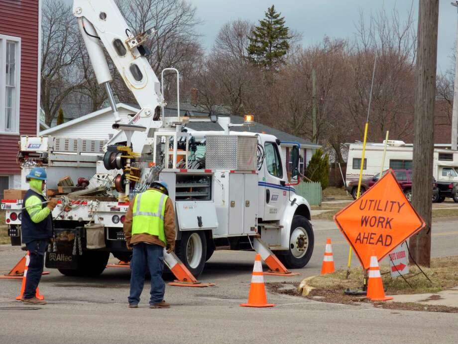 Utility workers are among those employees exempt from Gov. Gretchen Whitmer's stay at home order. (Scott Fraley/News Advocate)