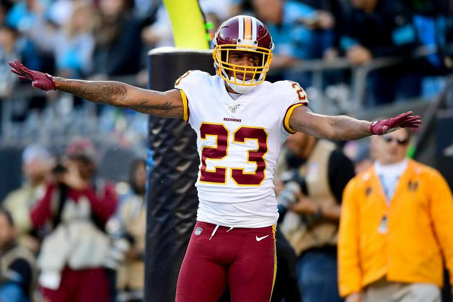 The team on Monday acquired corner Quinton Dunbar from the Washington Redskins, two sources confirmed to SeattlePI. The Seahawks get Dunbar for draft compensation, according to a league source. Photo: Jacob Kupferman/Getty Images / 2019 Jacob Kupferman