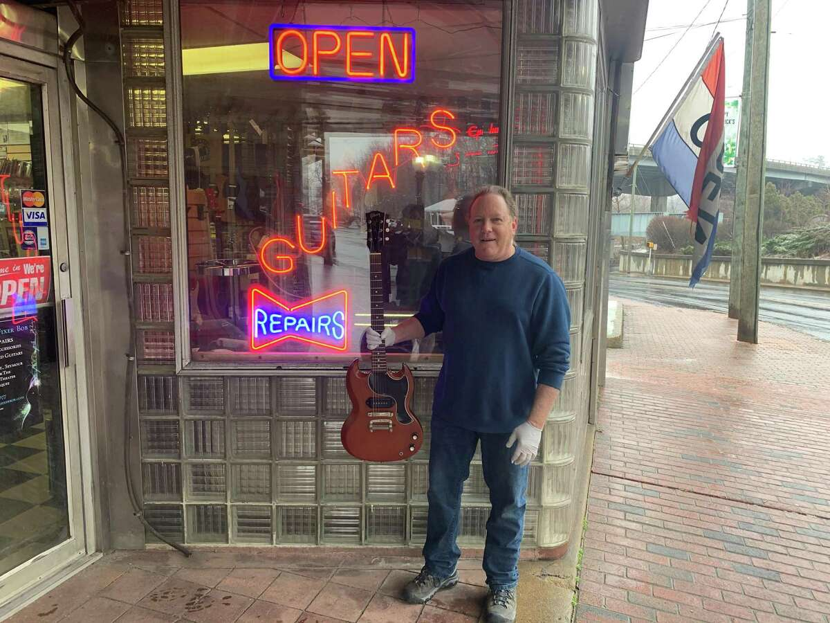 Luthier Robert Pieper, owner of GuitarFixer Bob, has closed up shop for the foreseeable future after his business was deemed