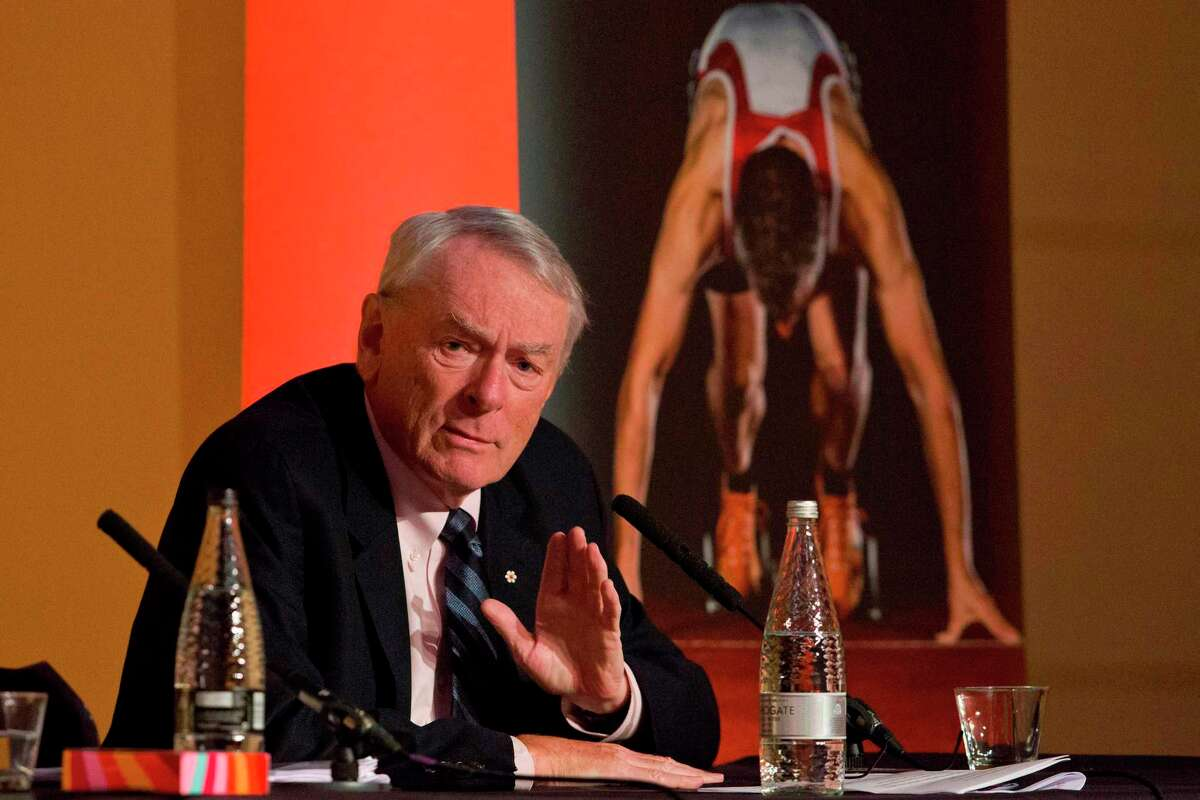 """Longtime International Olympic Committee member Dick Pound said that """"on the basis of the information the IOC has, postponement (of the 2020 Tokyo Games) has been decided."""""""