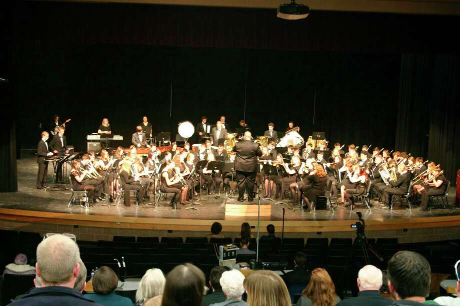 The Hemlock High School Concert Band recently participated in a band festival. (Photo provided)