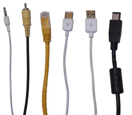 COMPUTER CABLES; AUDIO CABLES; VIDEO CABLES; USB CABLE
