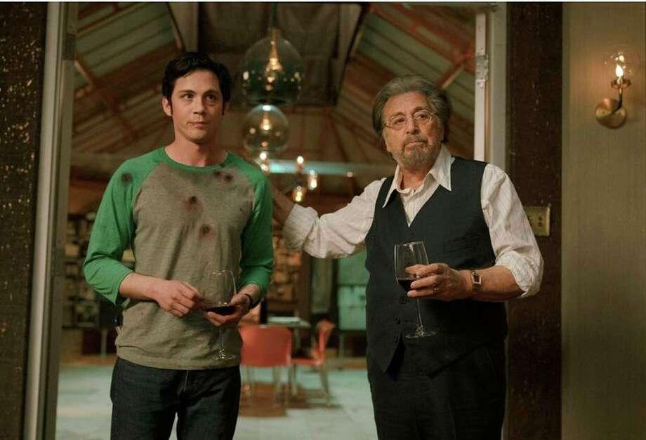 "Logan Lerman and Al Pacino star in ""Hunters"" on Amazon. Photo: Amazon / Contributed Photo /"