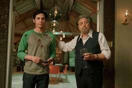 """Logan Lerman and Al Pacino star in """"Hunters"""" on Amazon."""