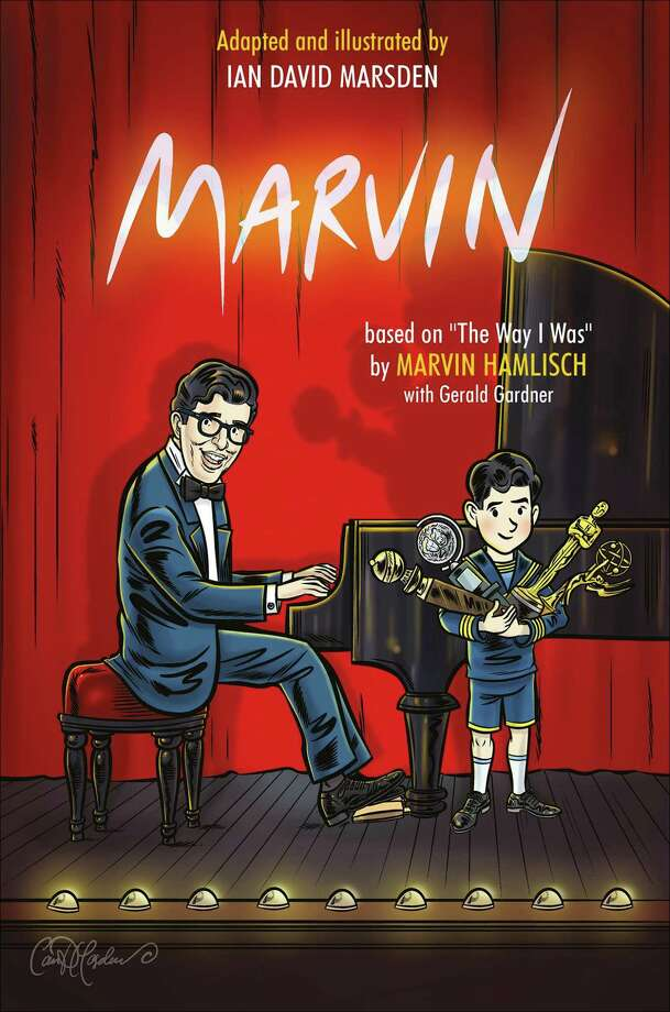 """Marvin"" is a family-friendly read about composer Marvin Hamlisch. Photo: Schiffer Publishing / Contributed Photo /"