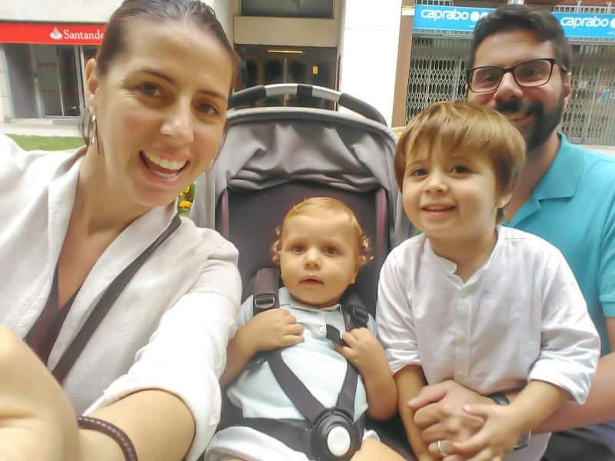 Michael Martinez moved to Barcelona in 2015 after he and his wife Cristina were married. He's lived there ever since and now has two little boys - a one-year-old and a three-year-old - and a baby girl due at the end of April. His growing family is living in the middle of Spain's outbreak. Martinez spoke to mySA.com on March 20, when Spain became the second European country to report more than 1,000 deaths.